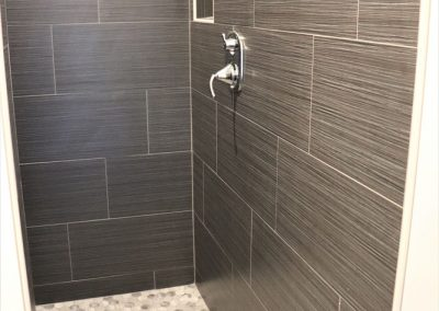 Coulee Carpet Tiled Shower Example
